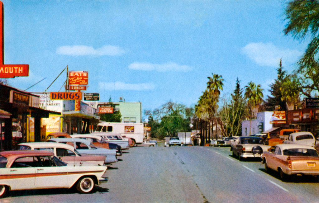 River Oaks Dodge >> Fair Oaks Boulevard in Fair Oaks, California 1957 Dodge ...