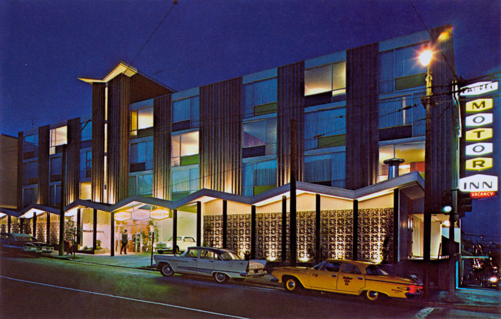 laurel motor inn in san francisco california 1957