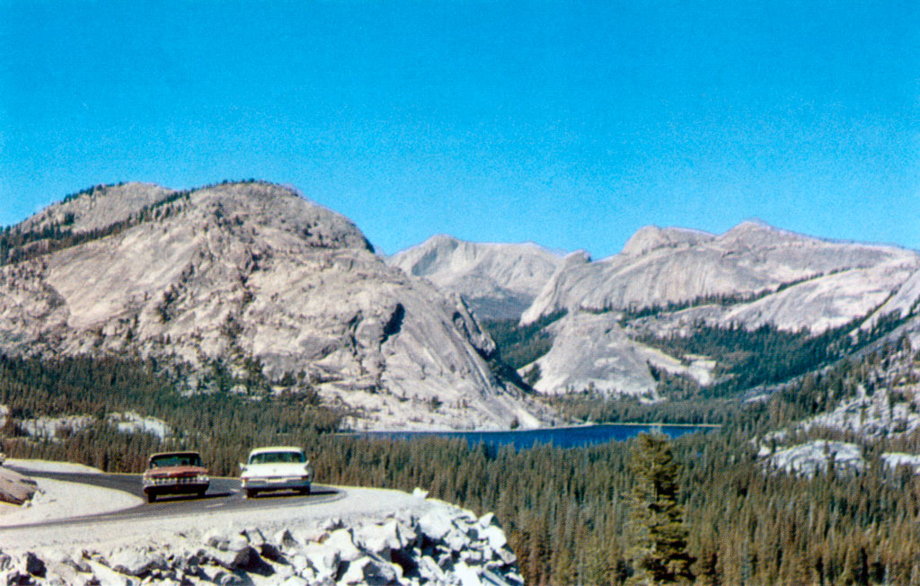 North Olmsted Dodge >> Tenaya Lake from Olmsted Point in Yosemite National Park, California 1961 Chrysler