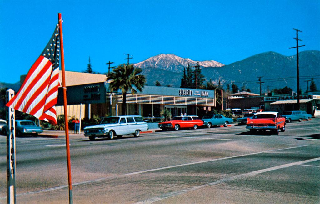 Yucaipa Boulevard In Yucaipa California 1959 Plymouth Fury