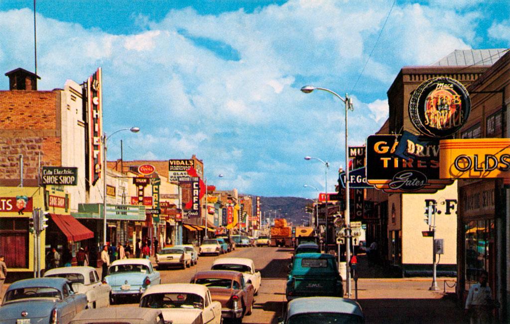 Dodge Dealership Albuquerque >> Coal Avenue in Gallup, New Mexico 1957 DeSoto Firesweep