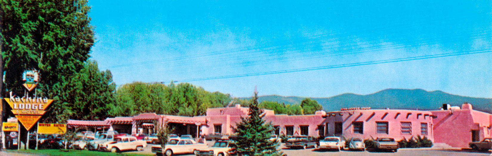Kachina Lodge and Motel in Taos, New Mexico 1957 Imperial