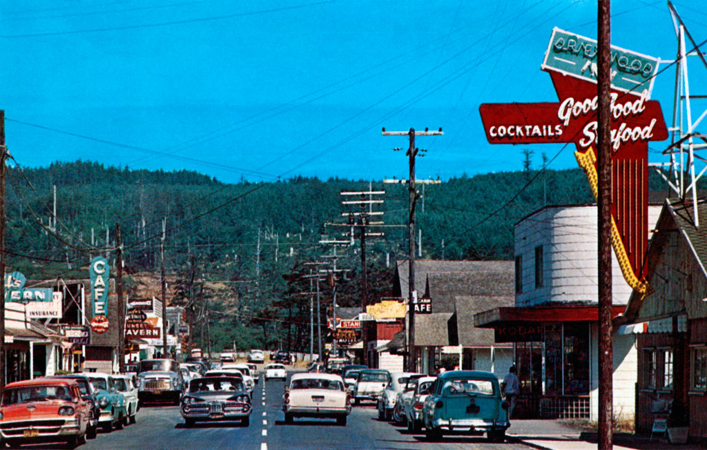Hemlock Street In Cannon Beach Oregon 1958 Amp 1959 Dodge Royal
