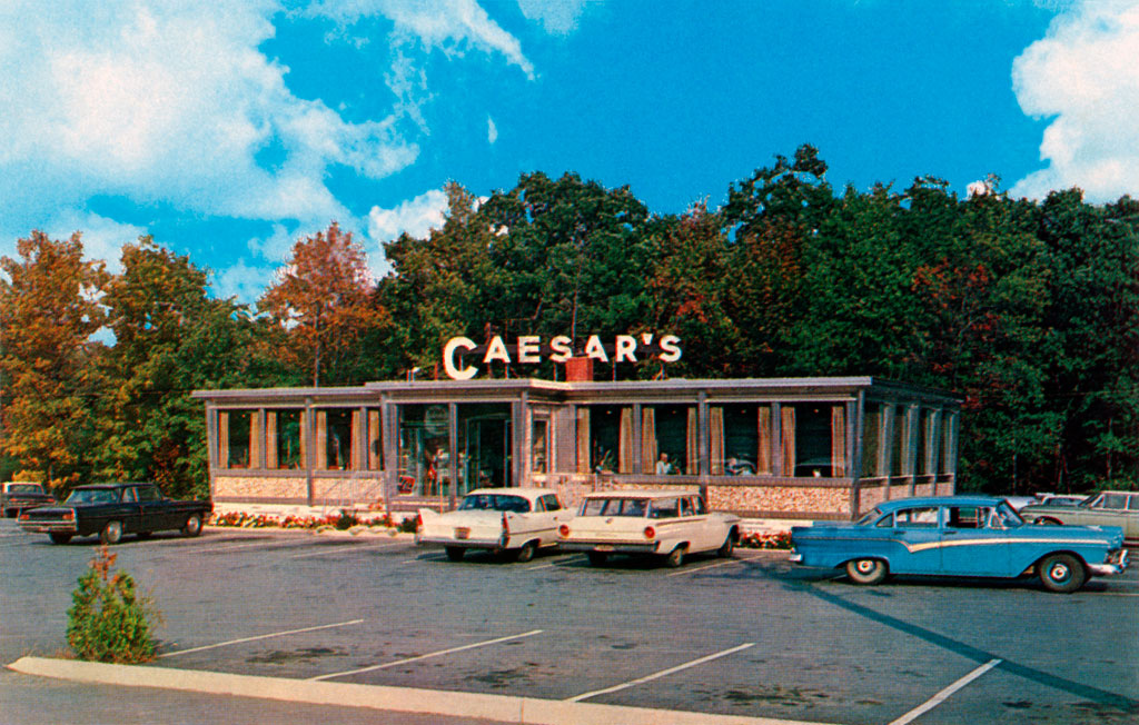 Caesar S Diner In Wind Gap Pennsylvania 1960 Plymouth Savoy
