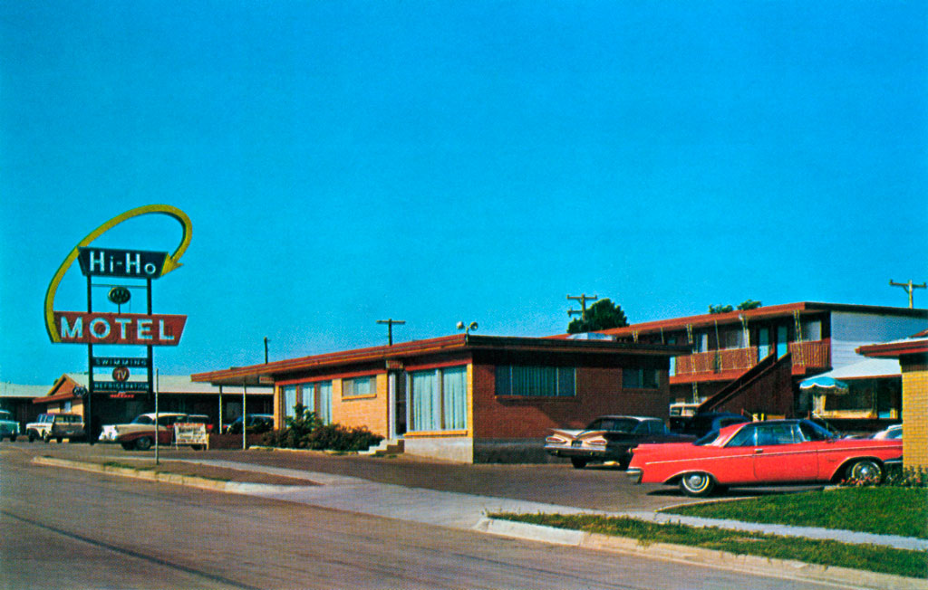 Hi Ho Motel In Fort Worth Texas 1960 Imperial Crown