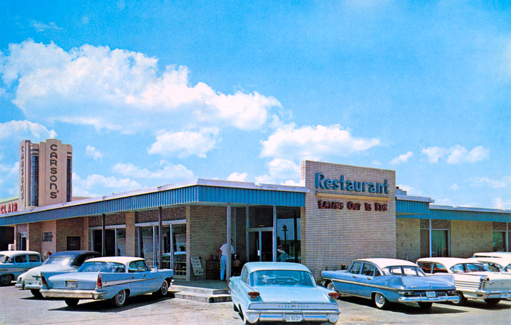Carson 39 S Restaurant In San Marcos Texas 1958 Chrysler Saratoga Hardtop
