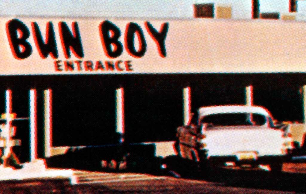 Bun Boy Restaurant In Baker California 1959 Dodge