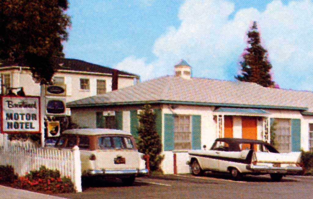 The brentwood motor hotel in los angeles california 1958 for Motor hotel los angeles
