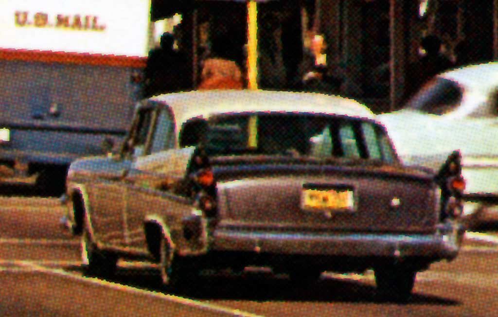 Van Nuys Boulevard at Friar Street, Van Nuys, California 1957 Dodge