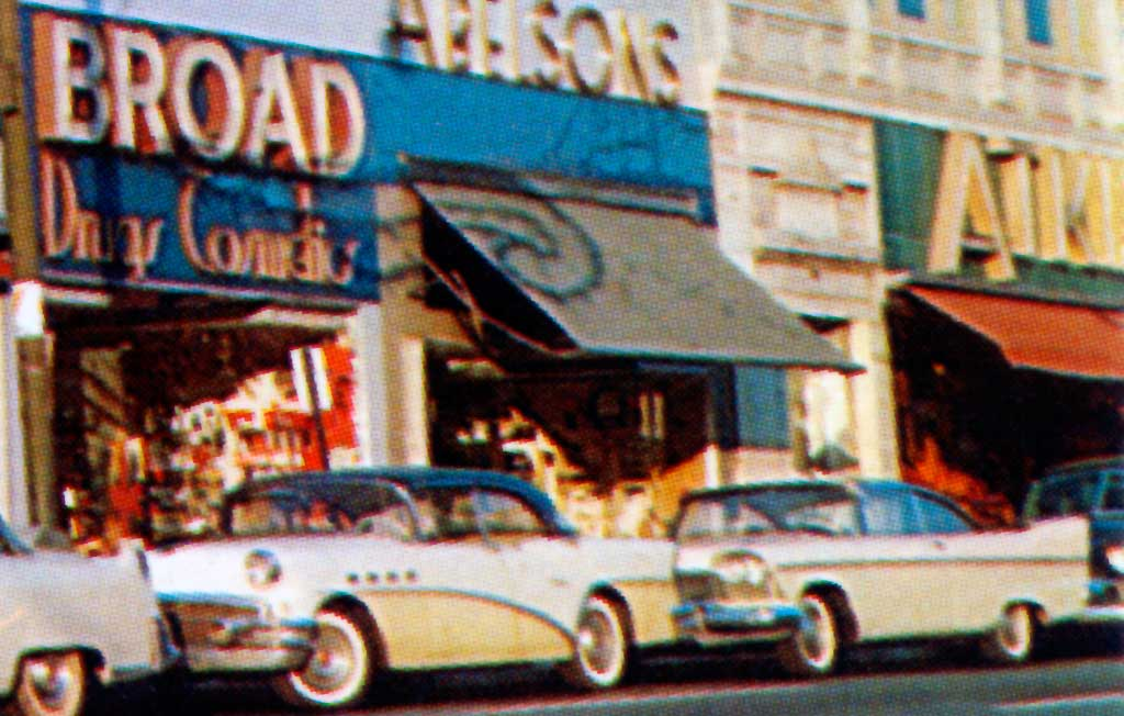 Springfield Avenue In Irvington New Jersey 1957 Plymouth