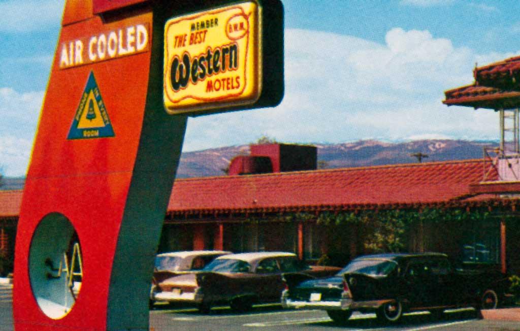 Donner Inn Motel In Reno Nevada 1960 Plymouth Fury