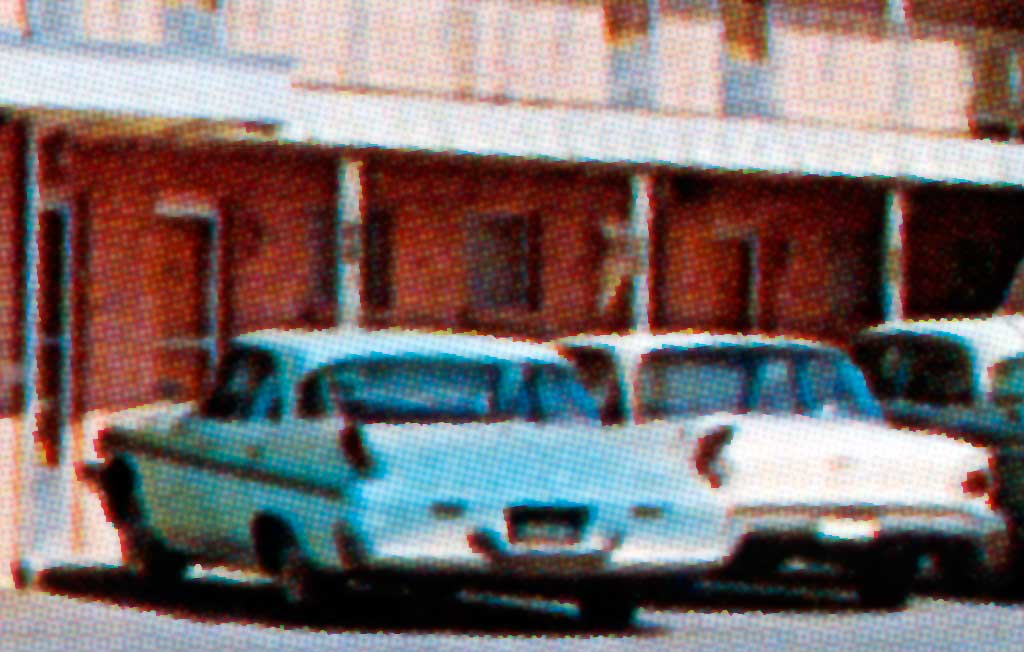 The Morrison Motel In Clinton Oklahoma 1960 Desoto Sportsman