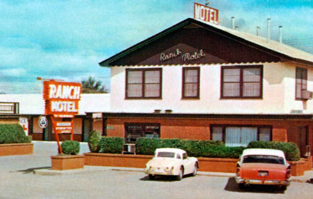 ranch motel in lawton oklahoma 1957 dodge coronet. Black Bedroom Furniture Sets. Home Design Ideas